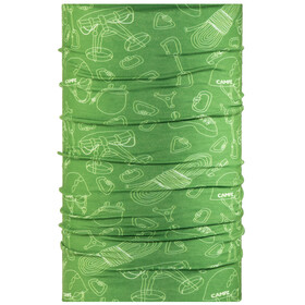 CAMPZ Multifunctional Cloth Neckwear green/white